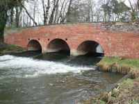 Three arched bridge